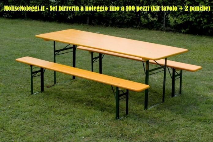Noleggio sedie tavoli e panche campobasso isernia chieti for Tavoli pieghevoli economici